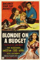 Blondie on a Budget 1940 DVD - Penny Singleton / Arthur Lake